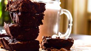 Chocolate-almond Brownies