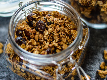 Coconut & Cranberry Granola