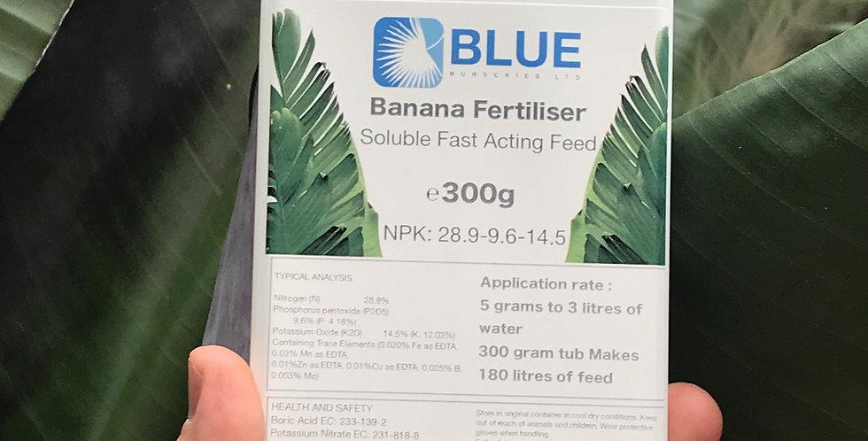 Banana soluble fertiliser