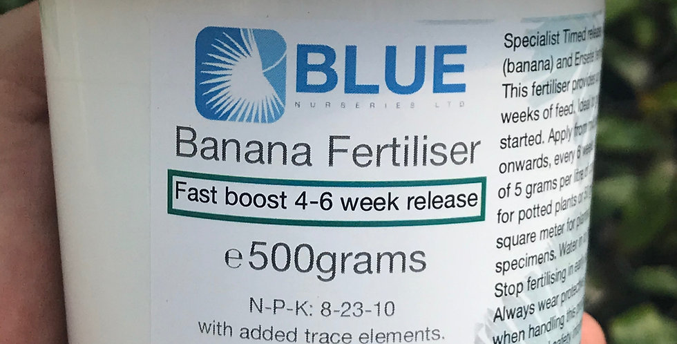 Banana fertiliser (granular boost)