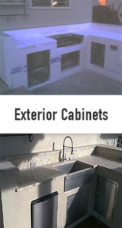 Exterior Cabinets