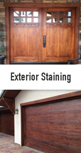 Exterior Staining