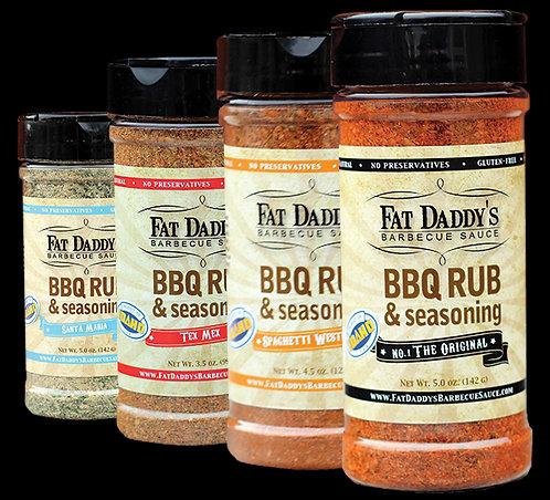 FREE Gourmet BBQ Rubs & Seasonings