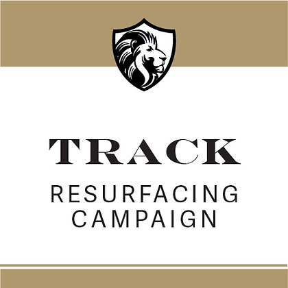 $25 toward Track Resurfacing Campaign