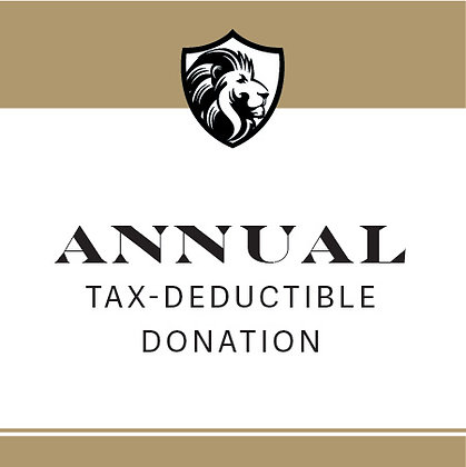 $500 Annual Tax Deductible Donation