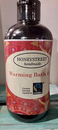 Warming Bath Oil