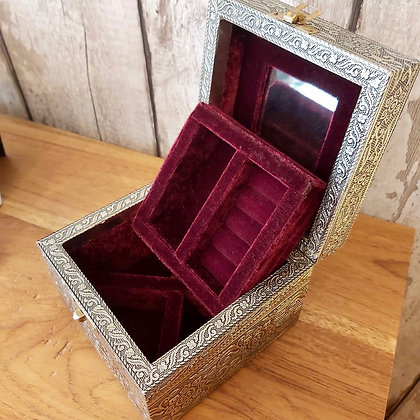 Champagne Gold Jewellery Box