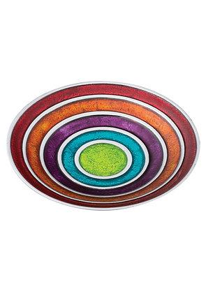 Foil Multi Coloured Bowl