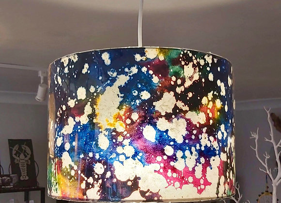 Drum Lamp Shade - Galaxy