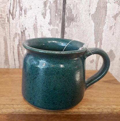 Hand Thrown Mug - Racing Green