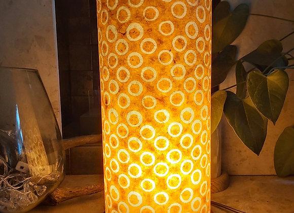 Orange Circles Lamp