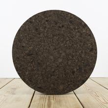 Smoked Cork Round Placemats - Set of 4