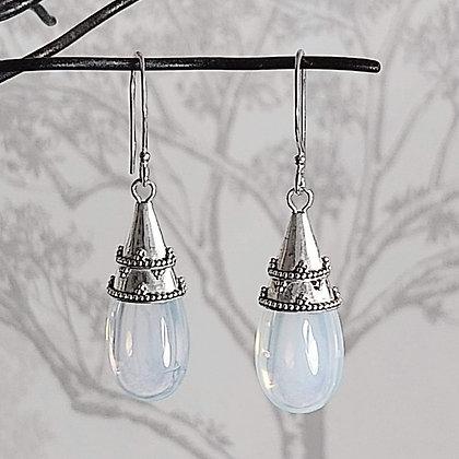 Moonglass Drop Earrings