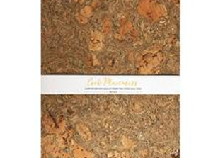Cork Rectangular Placemats - Set of 4