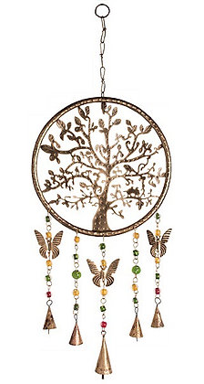 Tree of Life Windchime with Beads & Bells