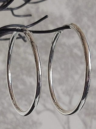 48mm Plain Hoops