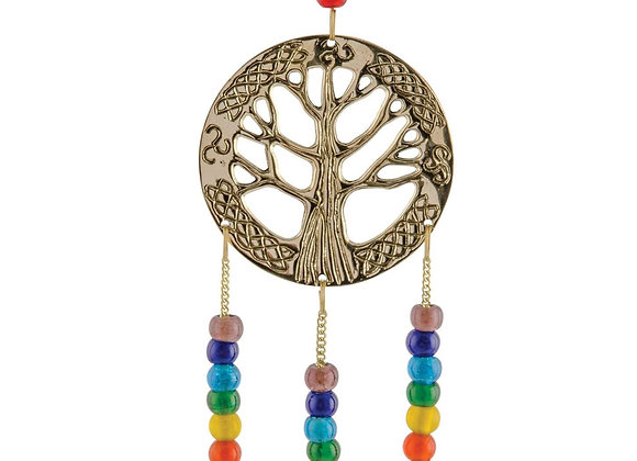 Hanging Tree of Life with Chakra Beads