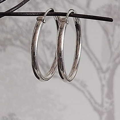 30mm Plain Hoops