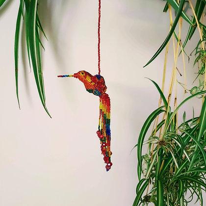 Glass Bead Hummingbird