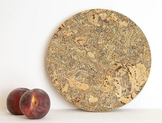 Round Cork Trivet - Medium