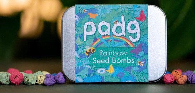 Rainbow Seed Bombs