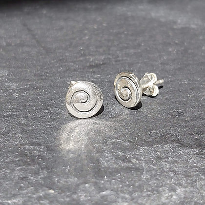 Thick Spiral Studs