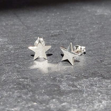 Flat Star Studs - Small