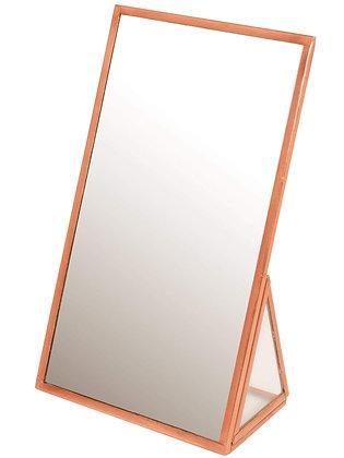 Copper Finish Standing Mirror