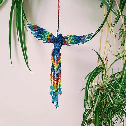Large Glass Bead Hummingbird