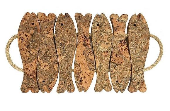 7 Fish Cork Trivet