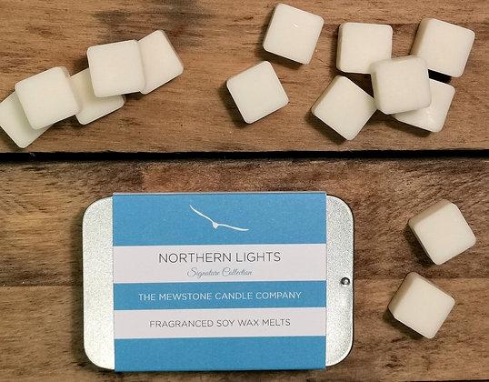 Northern Lights Wax Melt Slider Tin