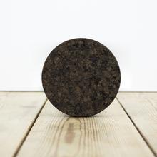 Smoked Cork Round Coasters - Set of 4