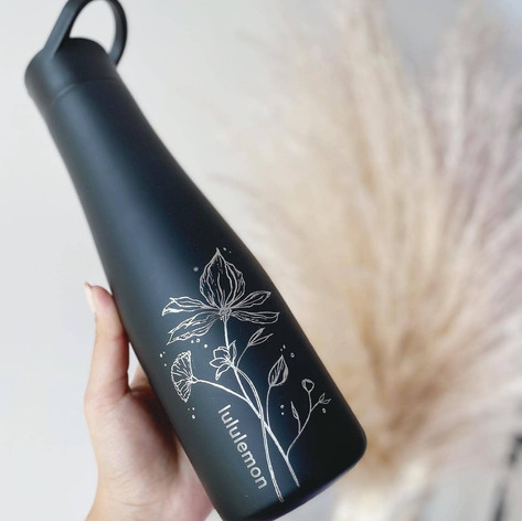 Engraved Lululemon Bottle