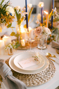 Hand written place cards - BOHO Luxe Heaven