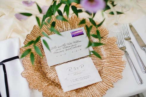 Modern Wedding Envelope Addressing