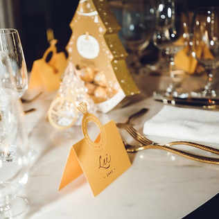 Event place card