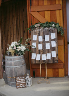 Wedding Signages - On Wood