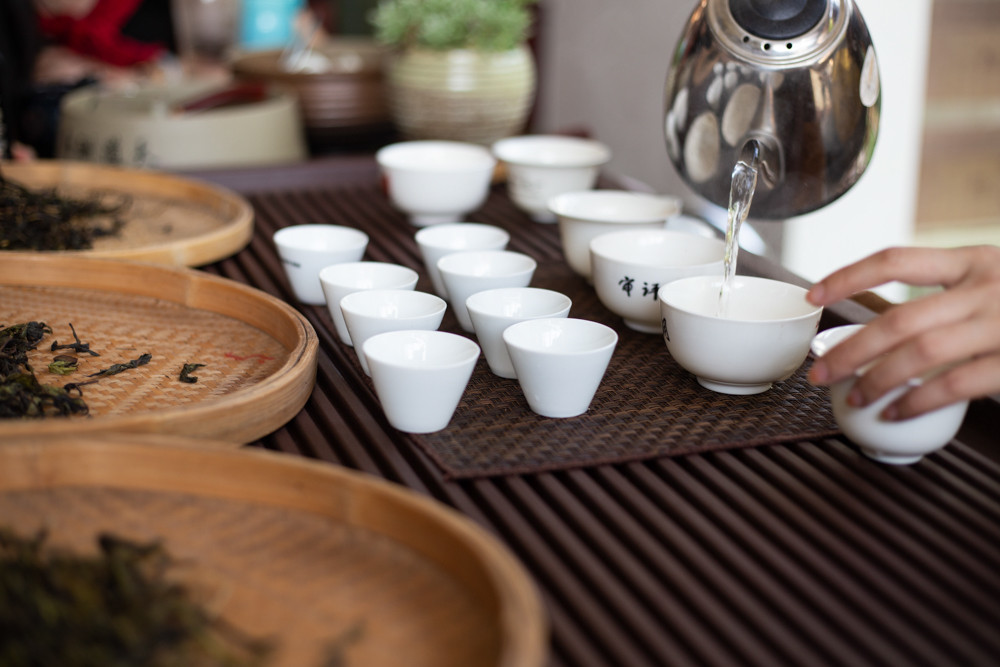 מפעל תה אולונג כהה