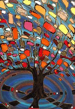 """Money tree 30""""x40"""""""