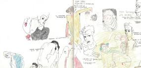 Notizen und Skizzen zur Ausstellung von Egon Schiele