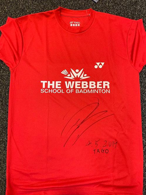 Signed Shirt from Kenichi Tago