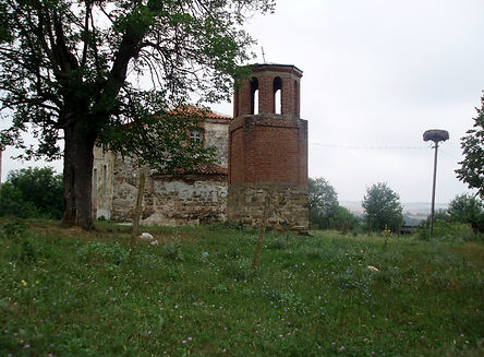 Church in Belila Village, Burgas where we have a house and Land for sale