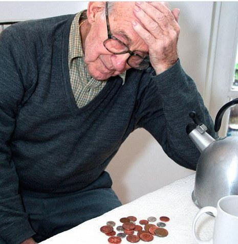Pensioners work hard all their life,yet sit in the cold because they can't afford heating