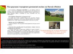 Nouvel article dans la gazette des diplomés de VetAgro: d'ingé à Agri le projet!