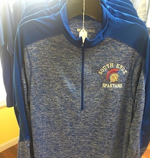 Spartans Quarter Zip