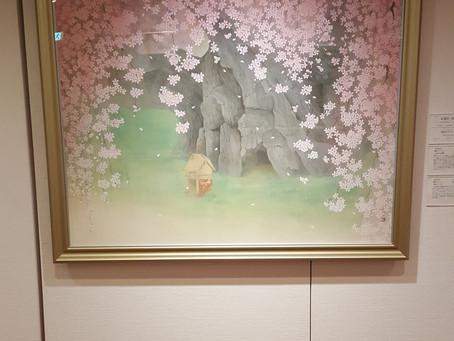 桜花賞展アーティストトーク