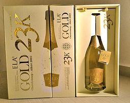 Ela Gold sparkling wine Cair