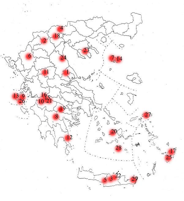 Χάρτης ζωνών Π.Ο.Π κρασιών