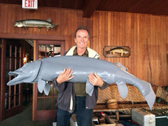 "Giant musky, Juliana and the Medicine Fish"" Jake MacDonald"
