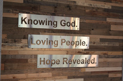 Knowing God. Loving People.
